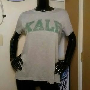 "MODERN LUX ""KALE"" T-SHIRT-SIZE LARGE-PERFECT COND"